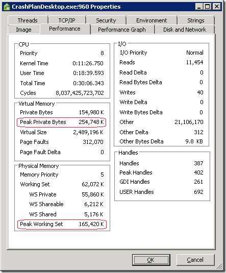CrashPlan.Memory.Desktop