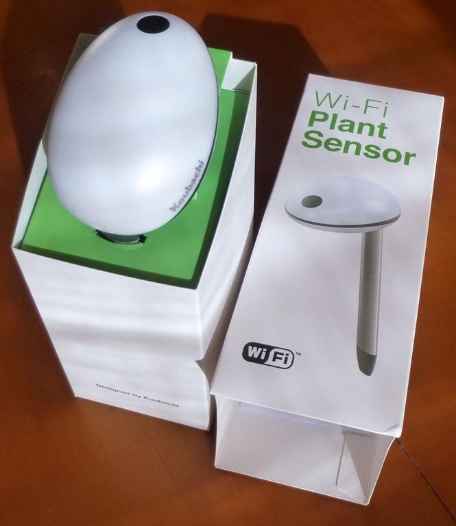 Koubachi wi fi plant sensor pieter viljoen 39 s blog - Monitor your indoor plants with the koubashi wi fi sensor ...